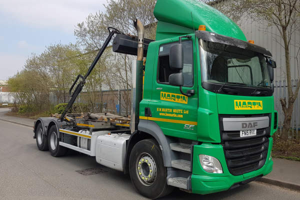 DAF and Iveco truck Servicing for H.W Martin Waste Ltd