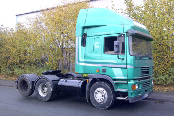 ERF EC Drive Axle Conversion, Sandbach, Cheshire