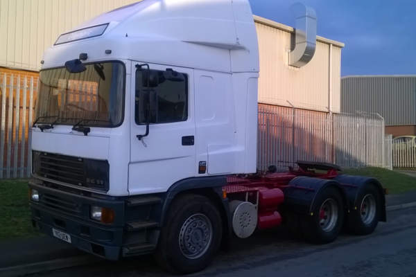 ERF EC11 6x2 Double Drive Conversion