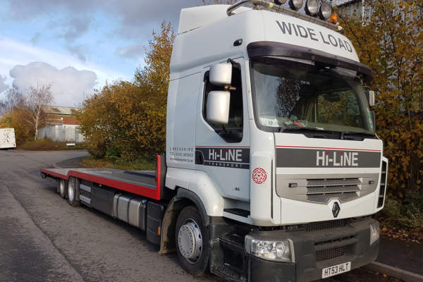 Extend Renault tractor unit to 6x2 with Granning Tag Axle