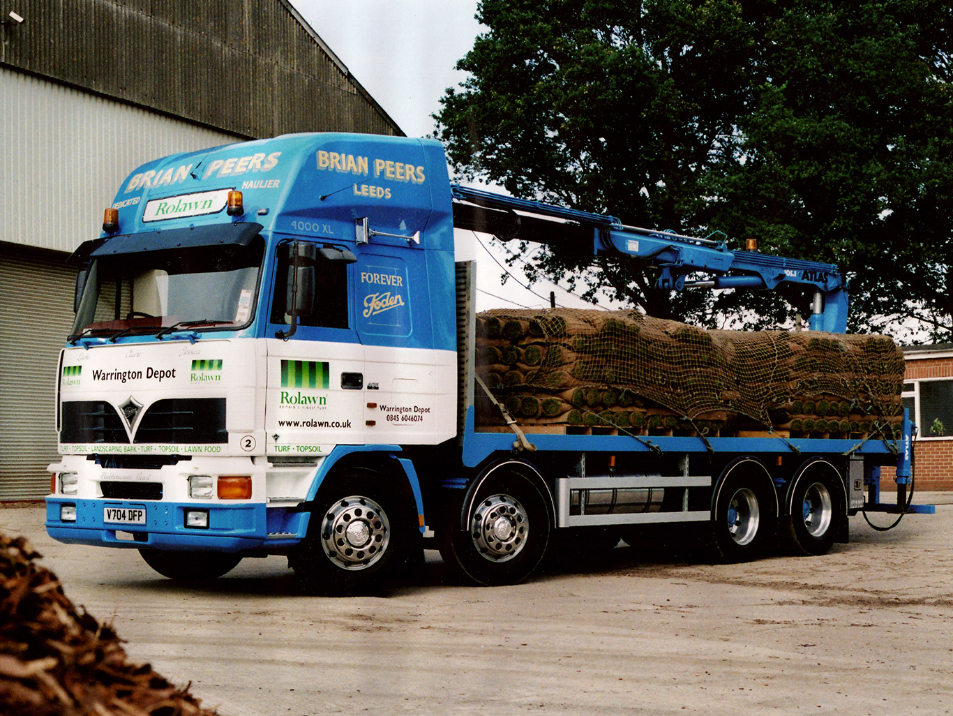 Foden 4400 series renovation and conversion for Brian Peers