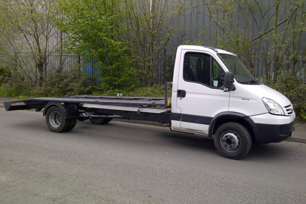 Iveco Car Transporter Conversion, Sandbach, Cheshire