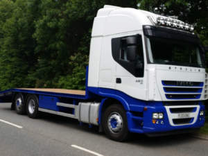 Iveco Stralis Beaver Tail Body Conversion
