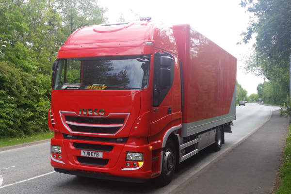 Iveco Stralis Box Body with Tail Lift Conversion for Doller Industries
