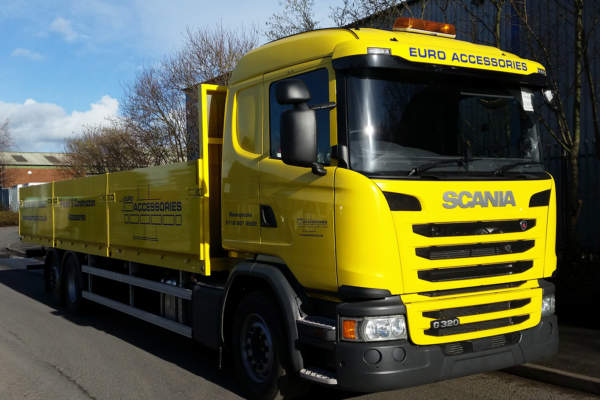 Scania G320 New Body for Euro Accessories