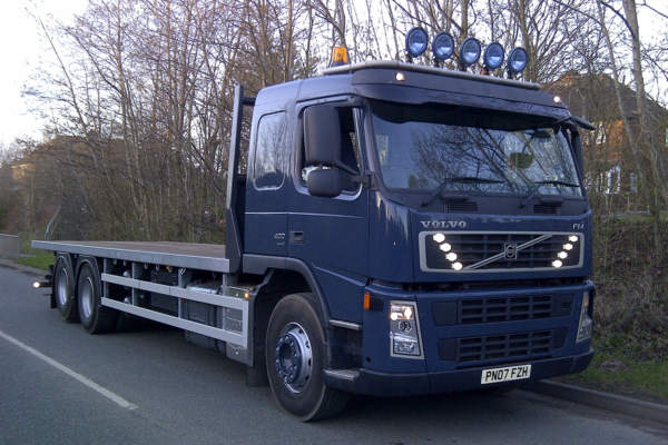 Volvo FM 6x2 rigid Granning Axle Conversion for CLD